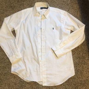 Ralph Lauren white polo